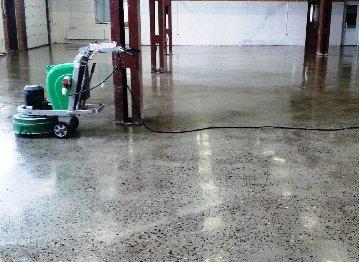 Полировка бетонных полов