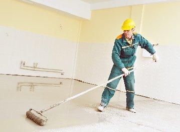 Нанесение полимеров на бетонные полы