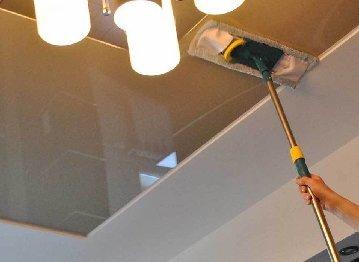 Глянцевые ПВХ натяжные потолки