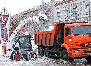 Вывоз снега и мусора с территории